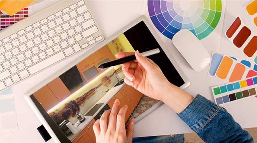 Дизайн стеклянного фартука