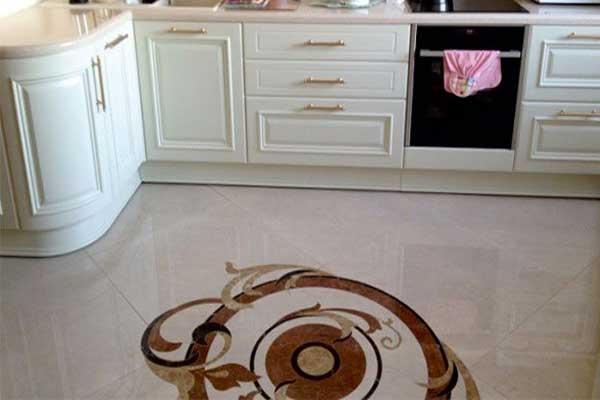 Кухня без стеклянного фартука