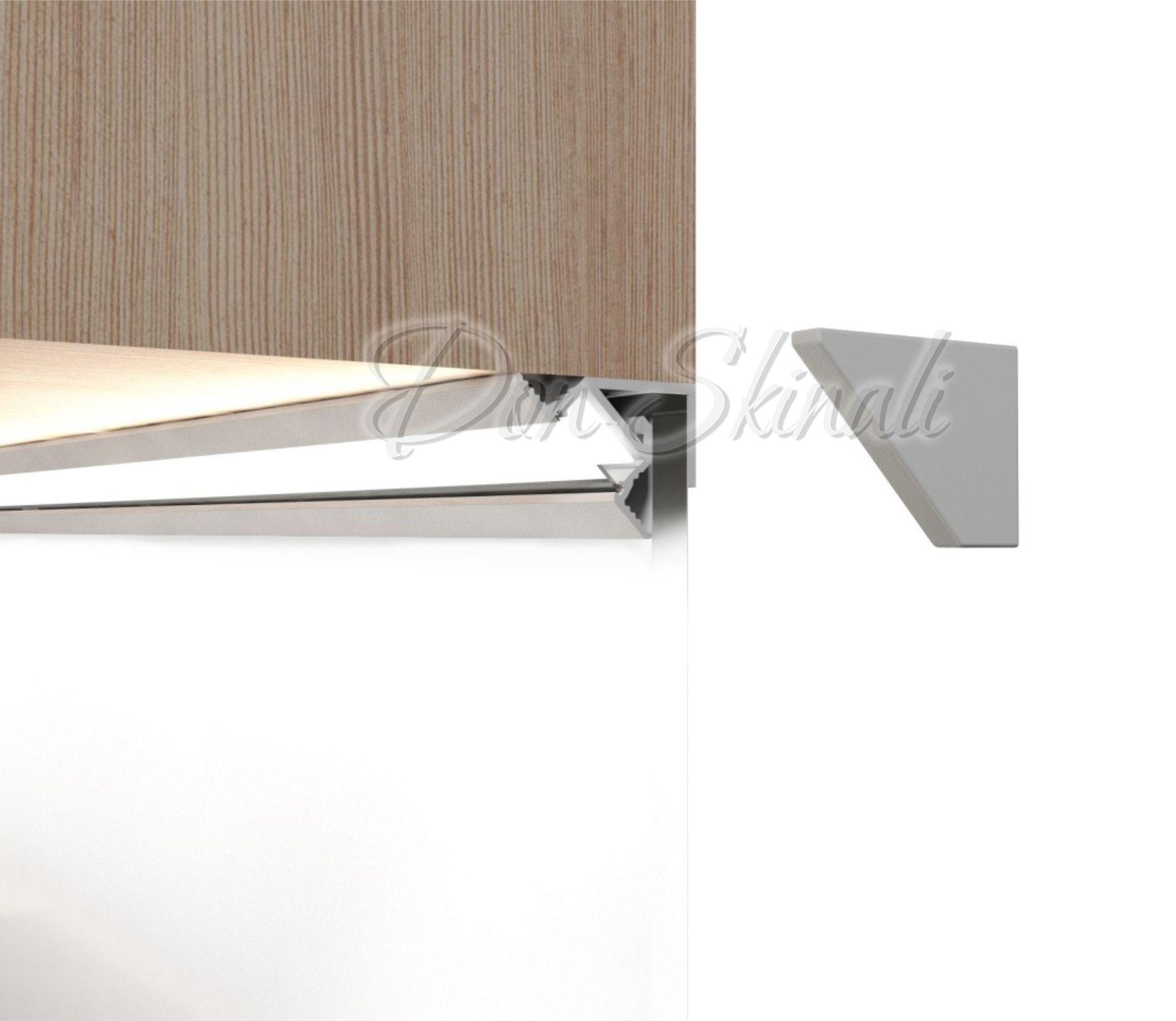 Профиль алюминиевый для фартука