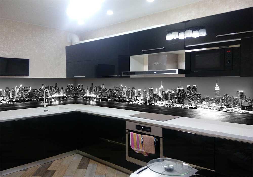 скинали ночной город фото с кухней