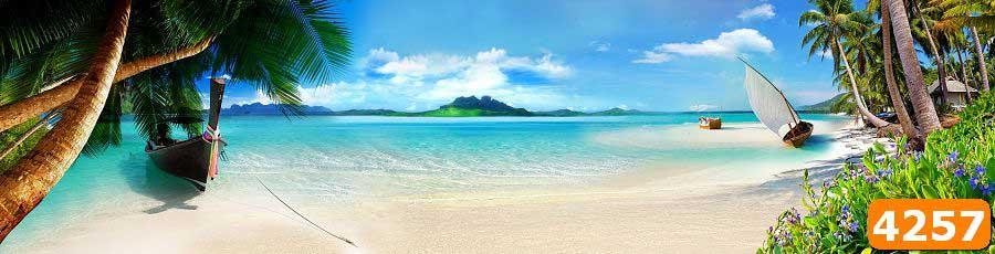 море и пляж скинали