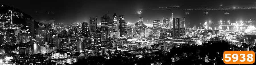Черно-белый город скинали