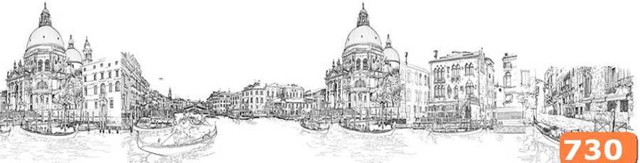 Фартук для кухни Венеция